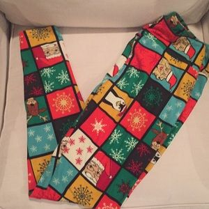 NWT LULAROE HOLIDAY CHRISTMAS LEGGINGS